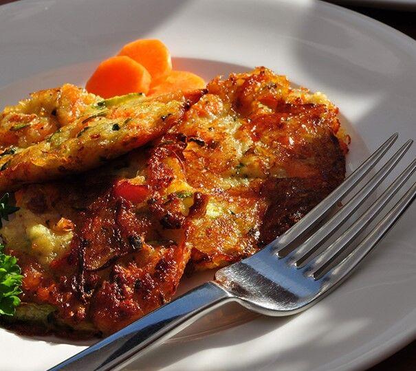 Kartoffel-Möhren-Puffer