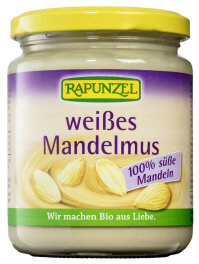 Rapunzel Weißes Mandelmus Bio 250g