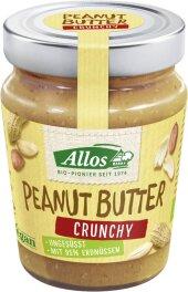 Allos Peanut Butter crunchy 227g Bio