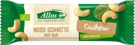 Allos Nuss-Schnitte Cashew 30g Bio