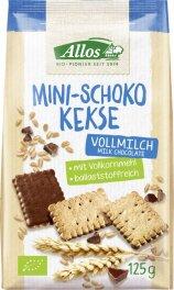 Allos Mini-Schoko-Kekse 125g