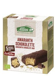 Allos Amaranth Schokolette Zartbitter 140g