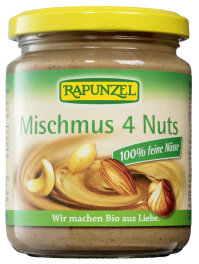 Rapunzel Mischmus 4 Nuts Bio 250g