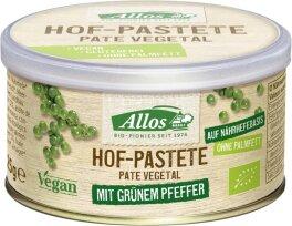Allos Hof Pastete Grüner Pfeffer 125g