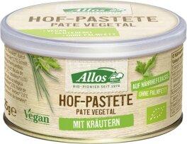 Allos Hof Pastete Kräuter 125g