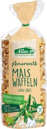 Allos Amaranth-Mais-Waffeln Rosmarin 100g