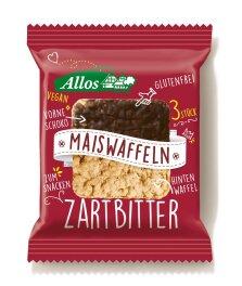 Allos Amaranth Mais-Waffel Zartbitter 37,5g