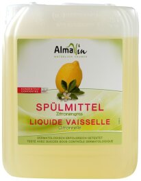 AlmaWin Spülmittel Zitronengras 5l