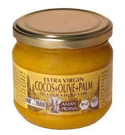Amanprana Cocosöl mit Oliven und Palmöl 325ml