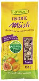 Rapunzel Früchte Müsli Bio 750g