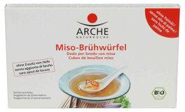 Arche Naturküche Miso-Brühwürfel 80g