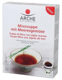 Arche Naturküche Misosuppe mit Meeresgemüse 4x 15g
