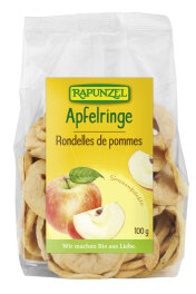 Rapunzel Apfelringe Bio Rohkostqualität 100g