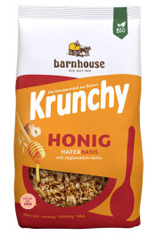 Barnhouse Krunchy Honig 600g Bio