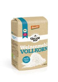 Bauckhof Weizenmehl Vollkorn demeter 1kg Bio