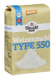 Bauckhof Demeter Weizenmehl Type 550 1kg