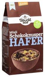 Bauckhof Hafer Müzli Schokoknusper Demeter 425g Bio