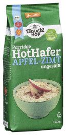 Bauckhof Hot Hafer Apfel-Zimt glutenfrei Demeter 400g Bio