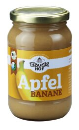 Bauckhof Apfel-Bananenmark, ungesüßt 360g