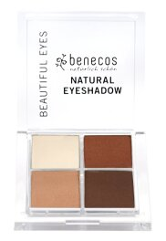 Benecos Natural Quattro Eyeshadow coffee 8g