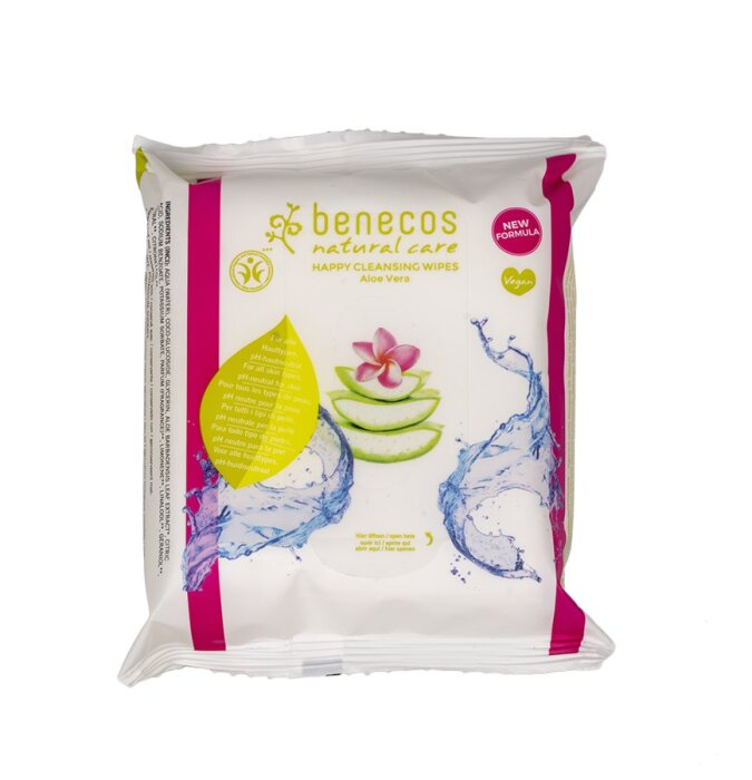 Benecos Happy Cleansing Wipes 25 Stk