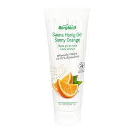 Bergland Sauna-Honig-Gel Sunny Orange 125g