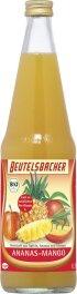 Beutelsbacher Ananas-Mango Direktsaft 700ml Bio