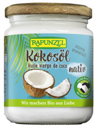 Rapunzel Kokosöl nativ Bio Fairtrade 200g
