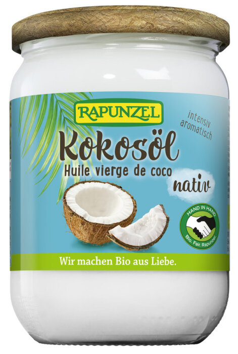 Rapunzel Kokosöl nativ Bio Fairtrade 400g