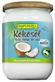 Rapunzel Kokos�l nativ Bio Fairtrade 400g