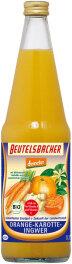 Beutelsbacher Orange-Karotte-Ingwer Direktsaft 700ml Bio