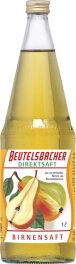 Beutelsbacher Birnensaft klarer Direktsaft 1l