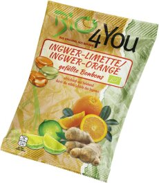 Bio 4You Ingwer Limette und Orange 75g