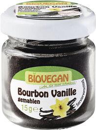 Biovegan Bourbon Vanille im Glas 15g