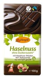 Birkengold Zartbitterschokolade mit Nüssen 100g