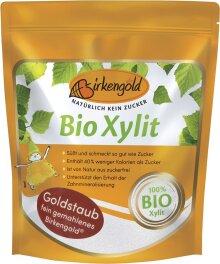 Birkengold Bio Xylit Goldstaub 350g