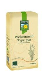 Bohlsener Mühle Weizenmehl Type 550 1kg Bio