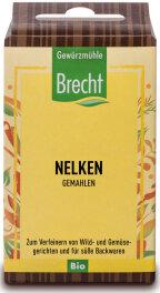 Brecht Nelken gemahlen - Nachfüllpack 35g