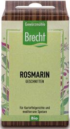 Brecht Rosmarin geschnitten - Nachfüllpack 25g Bio