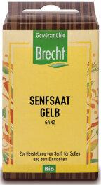 Brecht Senfsaat gelb ganz - Nachfüllpack 60g