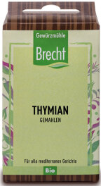 Brecht Thymian gemahlen - Nachfüllpack 25g Bio