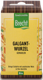 Brecht Galgantwurzel gemahlen - Nachfüllpack 20g