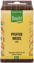 Brecht Pfeffer weiß ganz - Nachfüllpack 50g