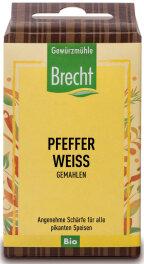 Brecht Pfeffer weiß gemahlen - Nachfüllpack 35g