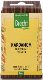 Brecht Kardamom gemahlen - Nachfüllpack 30g