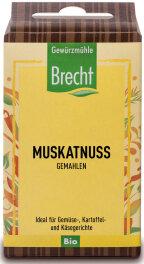 Brecht Muskatnuss gemahlen - Nachfüllpack 35g