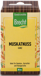Brecht Muskatnuss ganz - Nachfüllpack