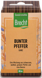 Brecht Bunter Pfeffer ganz - Nachfüllpack 40g