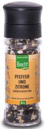 Brecht Pfeffer und Zitrone Mühle 52g
