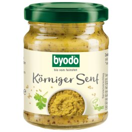 Byodo Körniger Senf Bio 125ml
